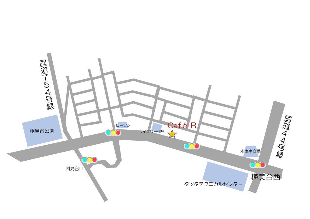 cafeR地図